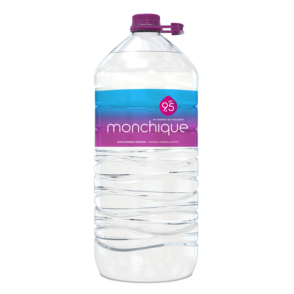 Agua alcalina Monchique 5l